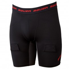 Hokejový suspenzor Bauer Essential Compression Jock Shorts SR