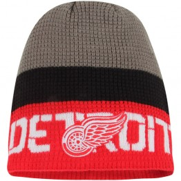 Zimní čepice REEBOK Center Ice Team Knit Beanie Detroit Red Wings