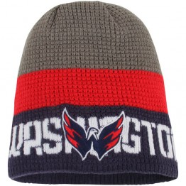 Zimní čepice REEBOK Center Ice Team Knit Beanie Washington Capitals