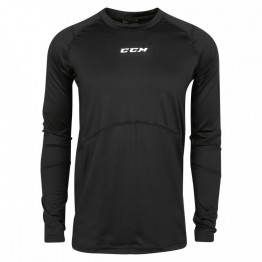 Funkční triko CCM Compression Long Sleeve Shirt with Gel Application JR
