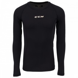 Funkční triko CCM Performance Compression Long Sleeve Shirt JR