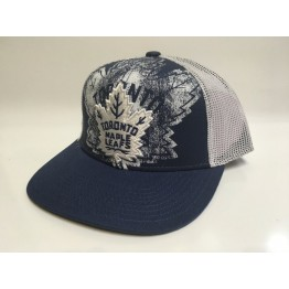 Kšiltovka REEBOK Print Structured Adjustable Toronto Maple Leafs